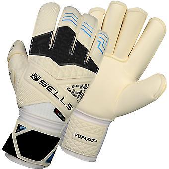 SELLS ELITE WRAP AQUA CAMPIONE Goalkeeper Gloves Size