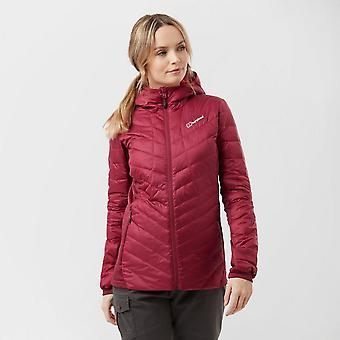 Nouveau Berghaus Women's Finsler Down Windproof Down Proof Jacket Pink