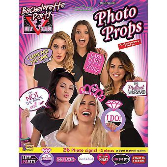 Casino Photobooth Kit 18pc