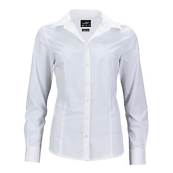 James and Nicholson Womens/Ladies Longsleeve Business Shirt