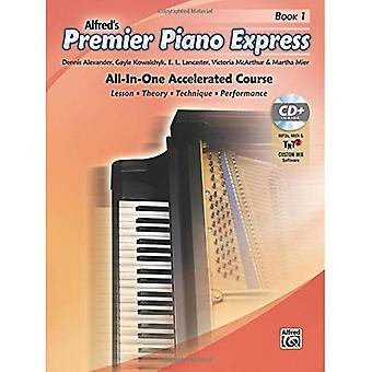 Premier Piano Express, Bk 1: An All-In-One Accelerated Course (Book, CD & Online Audio & Software) (Premier Piano...