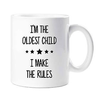 Jestem najstarszym robię kubek zasady