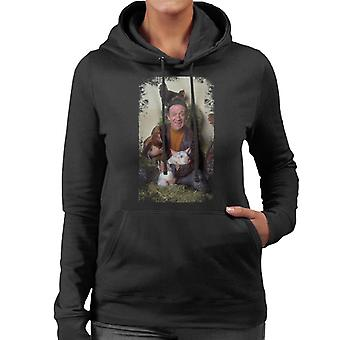 TV Zeiten Sid James zwei In Clover 1969 Damen Sweatshirt mit Kapuze