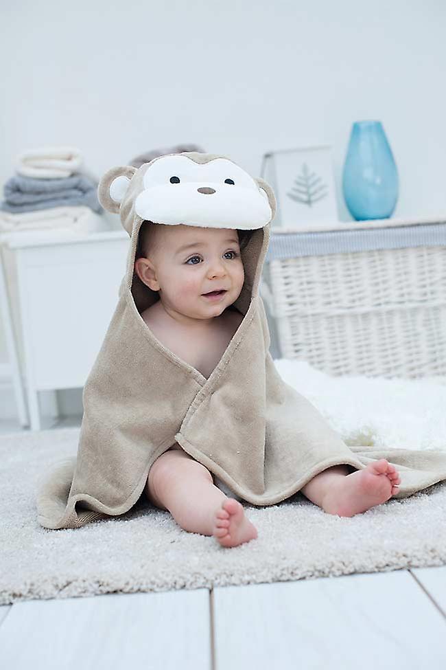 Cheeky Monkey baby towel