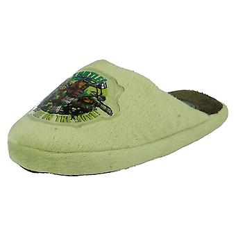 Boys Nickelodeon Turtles Slippers TN8240