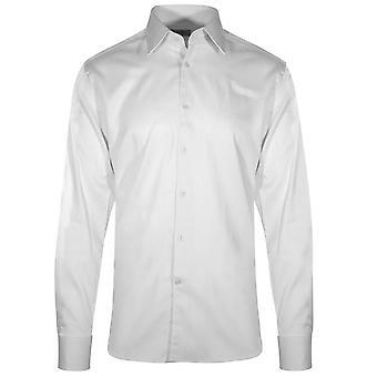 CC Collection Corneliani White Long Sleeve Shirt