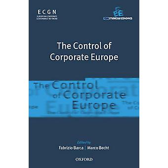 The Control of Corporate Europe by Barca & Fabrizio