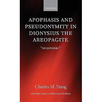 بارالبسيس واستعارة في ديونيسيوس Areopagite لم تعد أنا م تشارلز & ستانغ.
