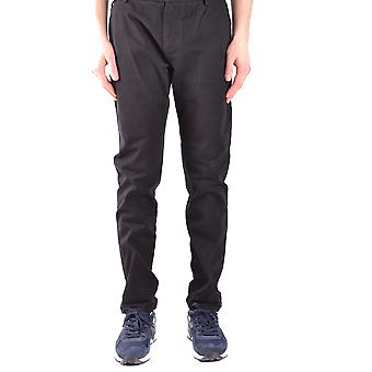 Brian Dales Ezbc126005 Men's Black Cotton Pants