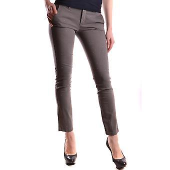 Liu Jo Ezbc086128 Women's Brown Cotton Pants