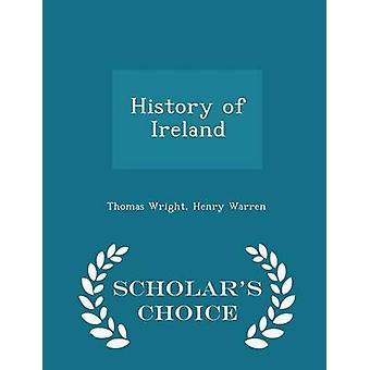 تاريخ أيرلندا العلماء الطبعة اختيار طريق رأيت & توماس