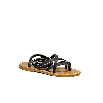 K.jacques Zenobiepulnoir Femmes'sandales en cuir noir