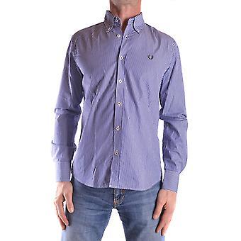 Gant Ezbc144011 Uomo's Camicia in cotone blu