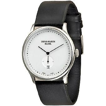 Zeno-watch mens watch flat Bauhaus quartz 6493Q-i2