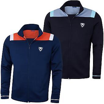 Callaway Mens Colourblock Track Chev Opti-Dri Golf Jacket