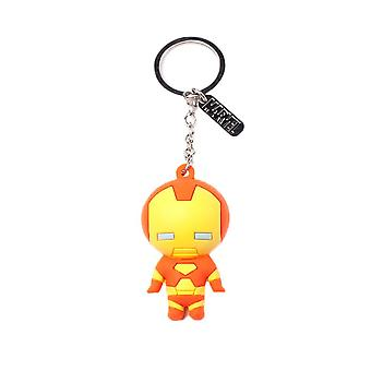 Iron Man 3D Rubber Keyring