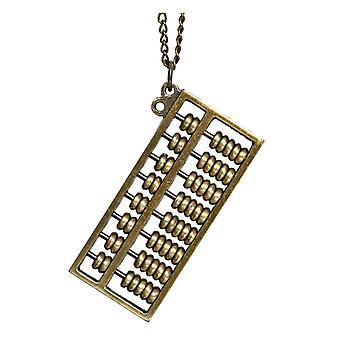 Metal Abacus Design riipus ja ketju