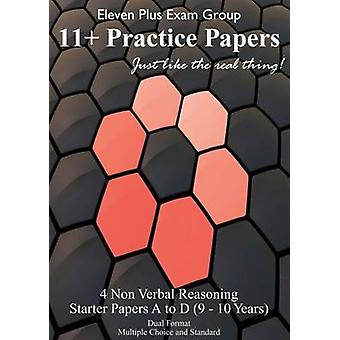 Non-verbal Eleven Plus Starter Papers - 48 Questions / 40 Minutes - (NV