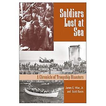Soldats perdus en mer: une chronique des catastrophes de Troopship