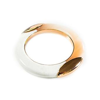 Lola Rose White and Rose Gold Rodeo Bangle 2Q0059-176170