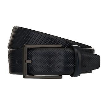MONTI DUBLIN Belt Men's Belt Leather Belt Blue 8035