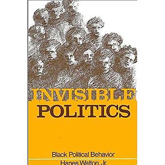 Invisible Politics: Black Political Behavior (série SUNY dans African American Studies)