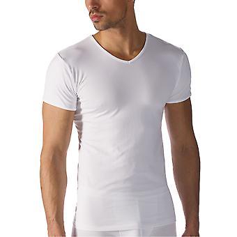 Mey 42507-101 Men's Software White Modal Kortärmad topp