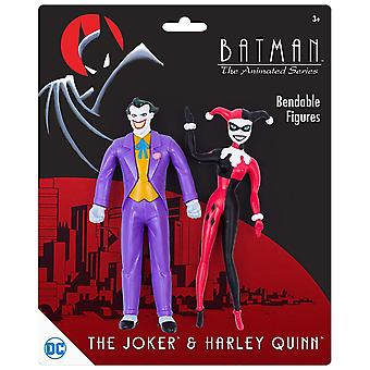 Action Figures - DC Comics - Joker & Harley Quinn Bendable Pair New dc-3938