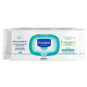 Mustela Replenishing Cleansing Wipes 50