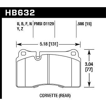 Hawk Performance HB632B. 586 HPS 5,0