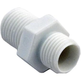 "Hayward CLX220P 0.25"" Adapter Fitting for Chlorine Chemical Feeder"