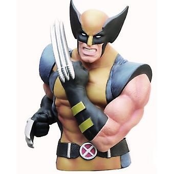 Coin Bank - Marvel - Wolverine Masked Bust Bank Gifts Toys 67001