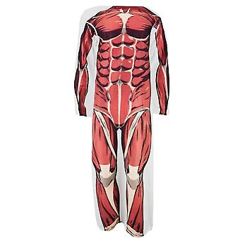 Adult Comfy Throws - Attack On Titan - Colossal Titan Blanket New czy-aot-bigred