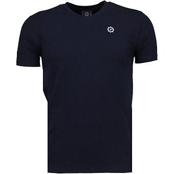 Basic Exclusive-T-shirt-mörkblå