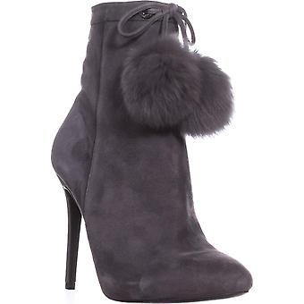 Michael Kors Womens Remi Leather Almond Toe Ankle Fashion Boots