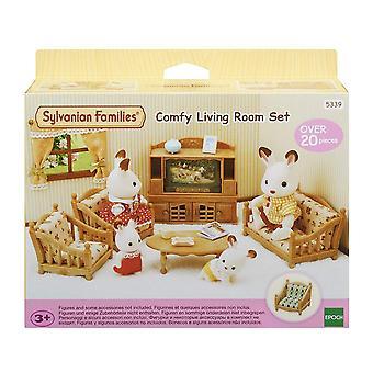 Sylvanian Families 5339 comfortabele woonkamer set
