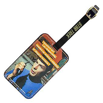 Luggage Tag - Star Trek - Spock Graphic New Toys Licensed ST-L102