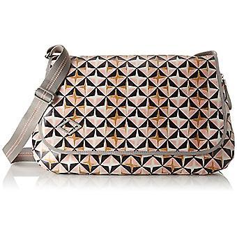 Oilily Lori Geometrical Diaperbag Lhf - Women's Pink Shoulder Bags (Rose) 16x30x44cm (B x H T)