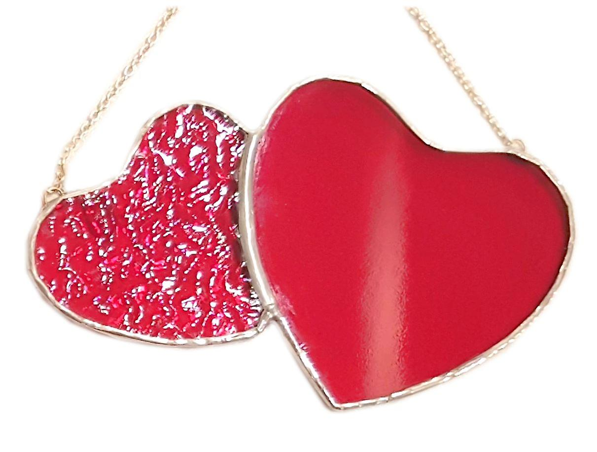 Simmerdim Design Double Red Heart
