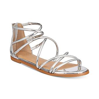 Material Girl Womens MWESTLEY Open Toe Casual Ankle Strap Sandals