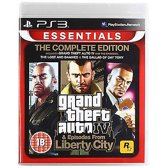 Grand Theft Auto IV Complete Edition PS3 gra