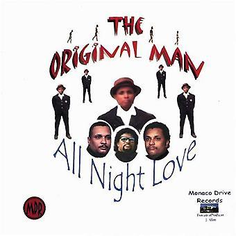 Mannen - All Night kjærlighet [DVD] USA importere