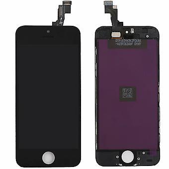 iPhone 5s - UDSKIFTNING AF LCD-skærmsedifizer - Sort