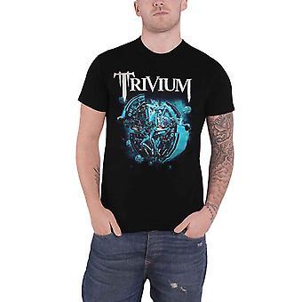 Trivium T Shirt Orb Band Logo new Official Mens Black