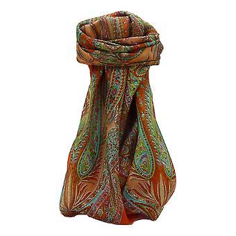 مولبيري الحرير الساحة التقليدية وشاح زيد تيراكوتا من باشمينا والحرير