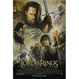 Lord Of The Rings: The Return Of The King Poster Double Sided Regular (2003) Original Cinema Poster