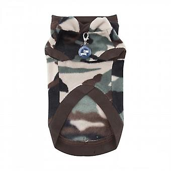 Puppia Corporal Hunde Hoodie Top