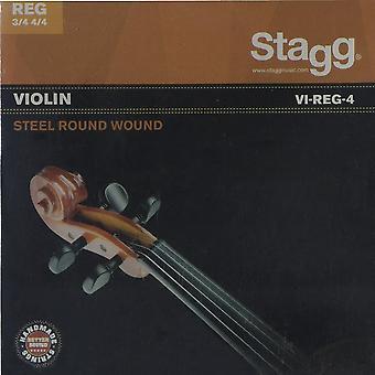 Stagg Violin String Set (3/4 - 4/4 Size)