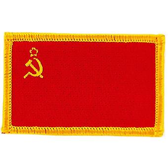 Patch Brode Brode Flagge UdSSR CCCP Russland Sowjetunion Thermocollant