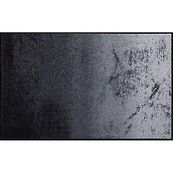 Salonloewe Fußmatte waschbar Shabby Grey 75x120 cm SLD0813-075x120